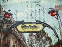 Metro Fine Art Print
