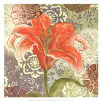 "Lilium I by Kate Birch - 13"" x 13"""