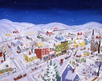 Our Town Christmas by Joseph Holodook - various sizes