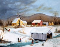 Winter Crossing by Joseph Holodook - various sizes