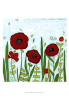 Precious Poppies I Framed Print