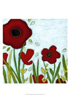 Precious Poppies III Framed Print