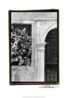 "Venetian Doorways IV by Laura Denardo - 13"" x 19"""