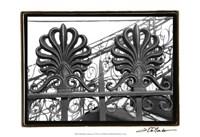 "Wrought Iron Elegance I by Laura Denardo - 19"" x 13"""