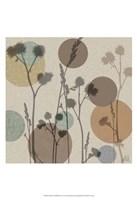 Polka-Dot Wildflowers I Framed Print