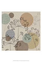 "Polka-Dot Wildflowers II by Jade Reynolds - 13"" x 19"""