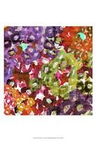 """Floral Barrage I by James Burghardt - 13"""" x 19"""""""
