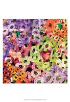"Floral Barrage III by James Burghardt - 13"" x 19"""