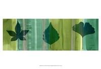 """Silver Leaf Panel I by James Burghardt - 19"""" x 13"""""""