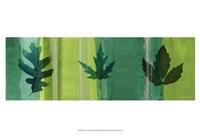 "Silver Leaf Panel II by James Burghardt - 19"" x 13"""