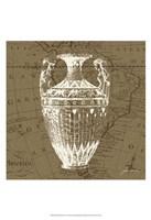 "Map Bottles II by James Burghardt - 13"" x 19"""