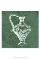 "Map Bottles III by James Burghardt - 13"" x 19"""