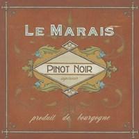 Vintage Wine Labels II by June Erica Vess - various sizes