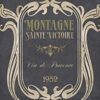 Vintage Wine Labels V Framed Print