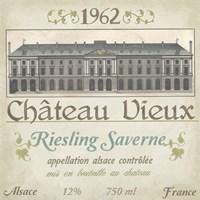 Vintage Wine Labels VII by June Erica Vess - various sizes