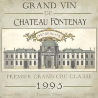 Vintage Wine Labels IX Framed Print