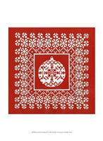 "Fair Isle Snowflake IV by Chariklia Zarris - 10"" x 13"""