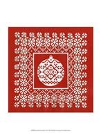 """Fair Isle Snowflake VI by Chariklia Zarris - 10"""" x 13"""""""