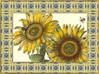 Classical Sunflower II by Vision Studio - various sizes