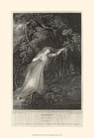 Hamlet - drawing Framed Print