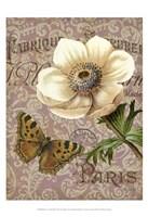 Memories of Paris III Fine Art Print