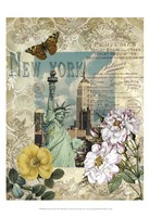 Eternal New York Framed Print