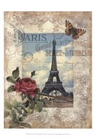 Eternal Paris Framed Print