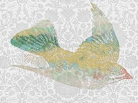 Patterned Bird III by Jennifer Goldberger - various sizes