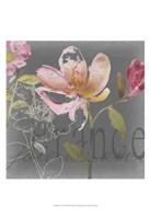 """Joie de Vivre II by Kiana Mosley - 13"""" x 19"""""""