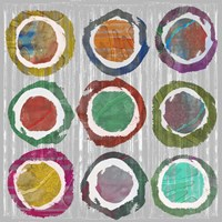 Jagged Circles II by Jennifer Goldberger - various sizes