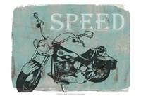 "Motorcycle Ride II by Jennifer Goldberger - 19"" x 13"""