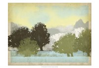 "Serene Park I by Vision Studio - 19"" x 13"""