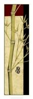 "Meditative Bamboo Panel I by Jennifer Goldberger - 12"" x 36"""