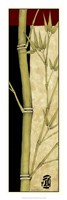 "Meditative Bamboo Panel III by Jennifer Goldberger - 12"" x 36"""