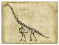 "Brachiosaurus Study by Ethan Harper - 42"" x 32"", FulcrumGallery.com brand"
