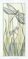 """Gossamer Dragonflies II by Chariklia Zarris - 13"""" x 28"""""""