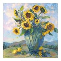 "Floral Kaleidoscope III by Nanette Oleson - 20"" x 20"""