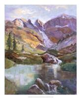 "Western Vistas II by Nanette Oleson - 18"" x 22"""
