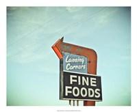 "Vintage Diner II by Recapturist - 22"" x 18"""