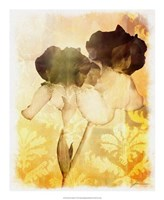 "Brocade Garden IV by James Burghardt - 18"" x 22"""