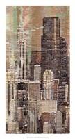 "Washed Skyline I by James Burghardt - 14"" x 26"""