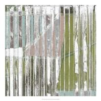 "Linear Mix I by Jennifer Goldberger - 20"" x 20"""