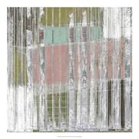"Linear Mix II by Jennifer Goldberger - 20"" x 20"""