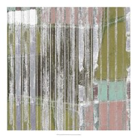 "Linear Mix III by Jennifer Goldberger - 20"" x 20"""