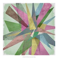 "Burst II by Jennifer Goldberger - 20"" x 20"""