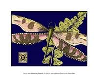 "Mini Shimmering Dragonfly IV by Vision Studio - 9"" x 7"""