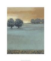 "Tranquil Landscape I by Norman Wyatt Jr. - 18"" x 22"""