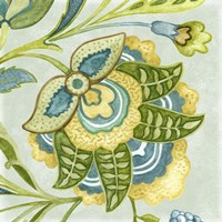 Decorative Golden Bloom IV by Sydney Wright - various sizes - $25.49