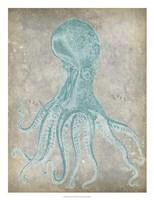 "Spa Octopus II by Jennifer Goldberger - 20"" x 26"""