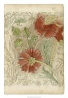 Floral Pattern Study II Fine Art Print